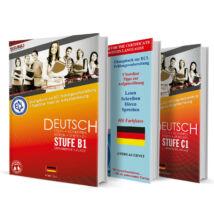 ECL német gyakorlókönyv sorozat (B1, B2, C1 szint)