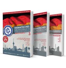 ECL Tematikus Német B2 sorozat (1, 2, 3 kötet) ajándékkal