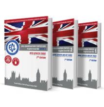 ECL Examination Topics English Level B2 sorozat (1, 2, 3 kötet)