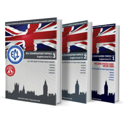 ECL Examination Topics English Level C1 sorozat (1, 2, 3 kötet)